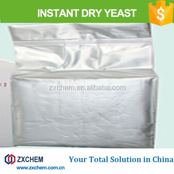 Instant dry yeast powder for food fermentation and baker's