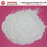 Dehydrated Gypsum Powder Plaster of Paris Designed for Art Work Sculptures High Whiteness and Super Strength