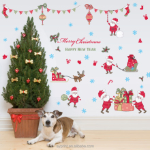 SK9099 New Year Merry Christmas Wall sticker Kid Nursery Room DIY decorative removable wall sticker