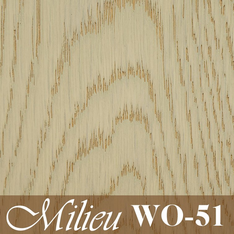 White Oak (WO-51) - Plank engineered flooring 3.5mm top layer UV Laquer coat wood timber