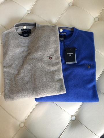Sweaters grey and blue