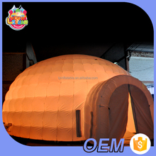 Led inflatable air dome yurt igloo / inflatable wedding event party tent / large air marquee