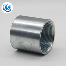 gi pipe fittings full thread steel pipe socket coupling