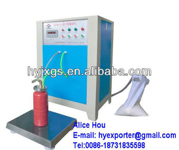 New model, best price ,hot selling!! fire extinguisher recharge machine /Fire extinguisher recharging equipment