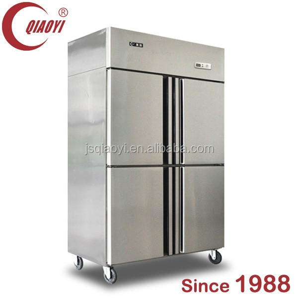 QIAOYI C Upright Stainless Steel Refrigerator