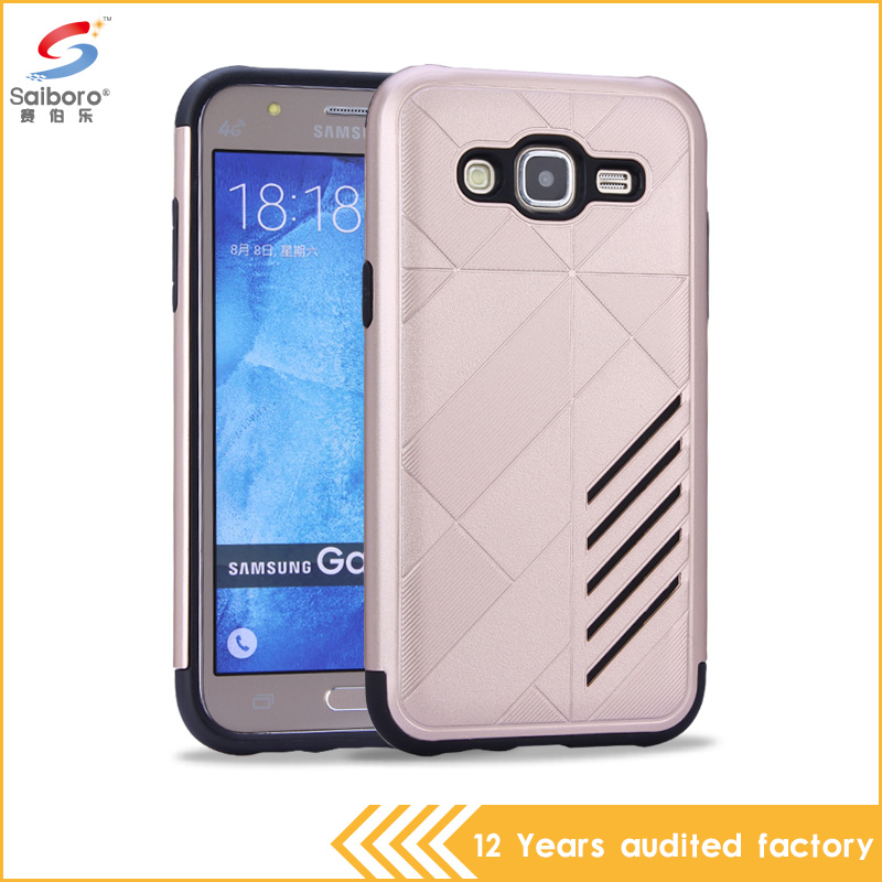 Detachable 2 in 1 hot selling tpu pc combo case for samsung case
