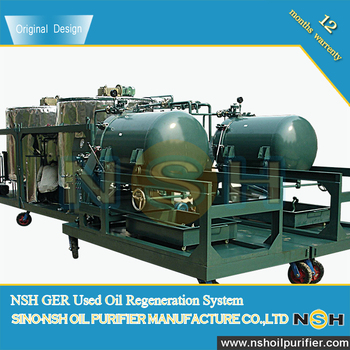 Used motor oil regeneration system oil recycling plant for Used motor oil recycling equipment