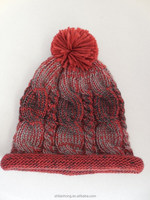 knitted fashion winter slouch beanie