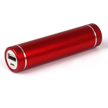 promotion gift 2600mAh Mini tube universal powerbank