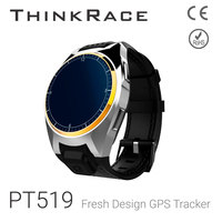 Thinkrace PT519 model heart rate monitor and GPS/LBS positioning gps wrist smart watch