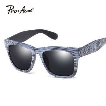 New arrived Fashion Wood grain Unsix Wholesale Glasses UV400 Protect Sunglasses PA901