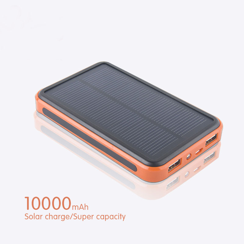 alibaba express shenzhen powerbank solar 10000mah portable cell phone charger