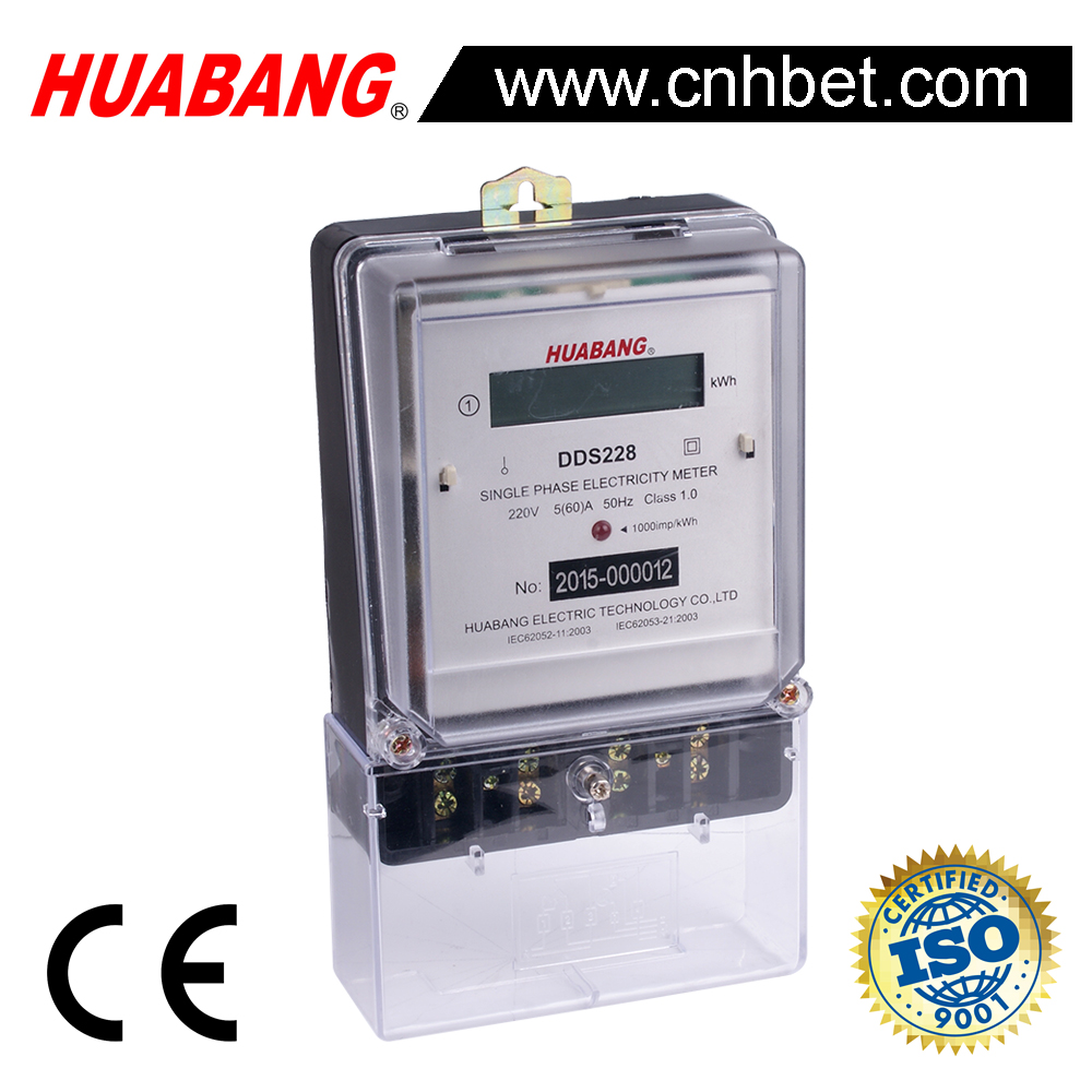 DDS228 electronic electricity meter