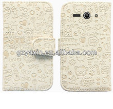 Factory Supply Mobile Phone Leather Case For Lenovo S820,Leather Case For Lenovo S820