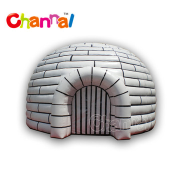 Commercial inflatable igloo tent inflatable Dome Tent inflatable tent for rental