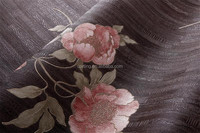 graceful flower vinyl wallpaper italian design wallpaper sale
