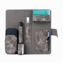 Book Design Pouch Case for iQOS Electronic Cigarette ,for iQOS Electronic Cigarette Kit Storage Carrying Case