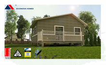 ECONOVA Australian standard certified prefabricated one bedroom house with good design air tight container