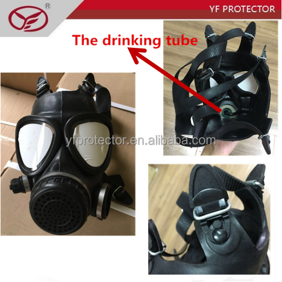 chemical protective mask/riot gas mask for military supply