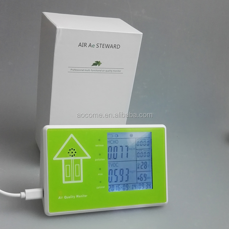 Wholesale new smart multifunction PM2.5 PM10 air quality detector