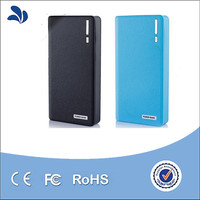 Hot sell Intelligent ABS plastic wallet harga 12000mah mobile power bank for samsung