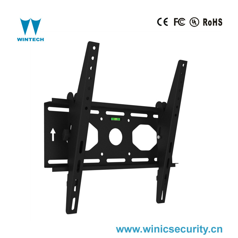 Tilt 15 degree LCD wall mounting fixed tv metal bracket