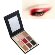 2017 new 9 color eyeshadow palette contour kit palette highlighting powder