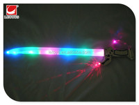 63cm wholesale led flashing weapon toys plastic light up sword