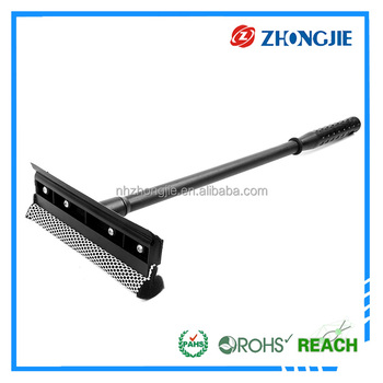 Flexible Sponge With Fishnet Window Screen Printing Squeegee