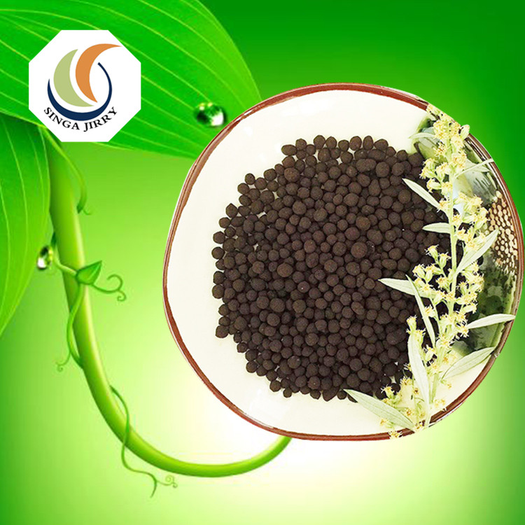 Top quality low price black granules Humic Acid Fertilizer