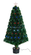 2.1m christmas tree with optical fiber light led spiral christmas tree led lighted walmart christmas tree