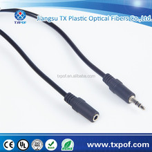 Mobile phone 3.5mm stereo jack to RCA audio cable