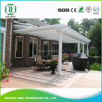 Factory Direct Sales All Kinds Of Wpc Garden Outdoor Pillar