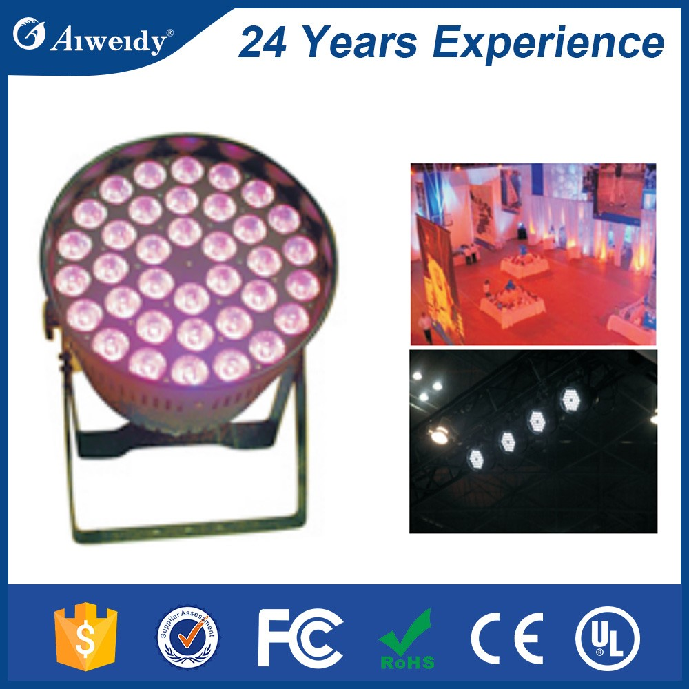 China supplier projection screen wireless led par can light/par led 36 10w  light for stage show in stock
