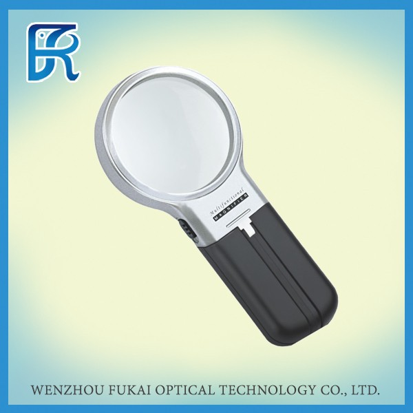 3X Acrylic Lens Magnifying Glass With ABS Plastic
