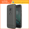 Carbon Fiber Luxury Phone Case Custom Cover Case For Moto G4 Play