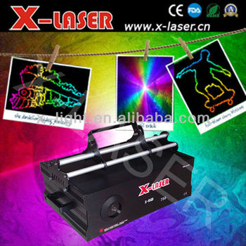 Best effects 5W analog modulation animated laser light/dancing laser light/effect bar laser light