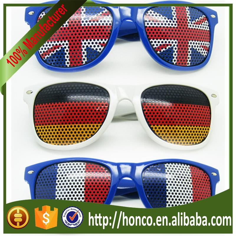 Coustom Funny Football Fans Pinhole Glasses