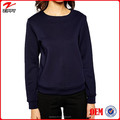 Fashion structured design women wholesale crewneck hooded sweatshirt