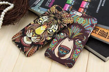 Fashion PC Case with Animal Face Pattern Protective Cover for iphone 6 pc case china wholesale