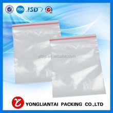 Small Reclosable Resealable 0.08mm Clear PE Plastic Poly Bags