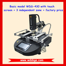 Touch screen mobile phone bga rework station WDS-430 bga repair machine for htc motherboard