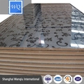 3D flower design High glossy Acrylic sheet MDF laminated