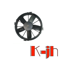 Brand new auto radiator electric fan 24v/2014 new product bus parts cooling fan ,top quality condenser fan motor with 5 blades