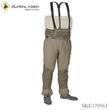 Custom fly fishing breathable wader stocking foot wader