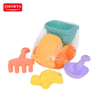 Zhorya ABS material beach sand playing toys 4pcs