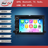 HuiFei Wince 6.0 dashboard placement OEM multimedia for Ford mustang 05-09 touch screen car stereo