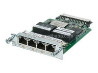 HWIC-4T1/E1= CISCO CLEAR CHANNEL T1/E1 HIGH SPEED WAN INTERFACE CARD - EXPANSION MODULE - 4 PORTS