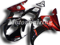 r6 fairings for yamaha 2005 yzf r6 bodykit 2003 2004 2005 yzf r6 03 04 05 r6 fairing kit r6 05 r6 race fairing yzf r6 black red