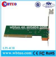 Wholesale CMI8738 4 channel 3d pci sound card